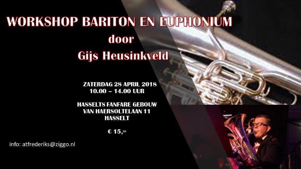 affiche workshop bariton en euphonium